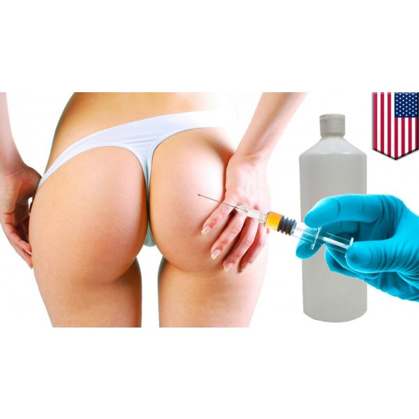 1000CC HYDROGEL BUTTOCK INJECTIONS.
